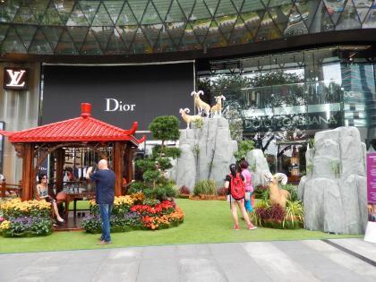 シンガポール2015.2オーチャード旧正月