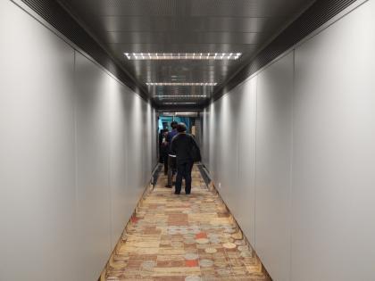 シンガポール2015.2デルタ航空成田行