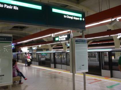 シンガポール2015.2地下鉄