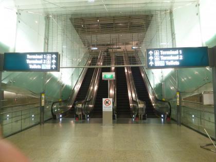 シンガポール2015.2地下鉄チャンギ空港