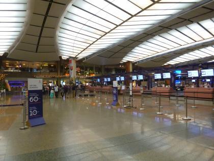シンガポール2015.2チャンギ空港ターミナル2