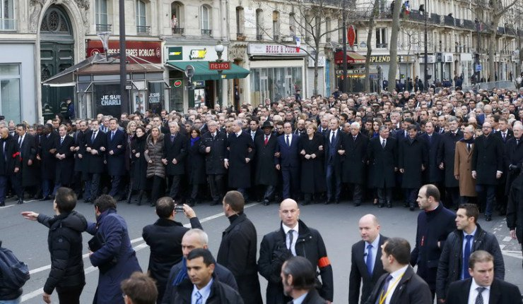 パリ政治家行進