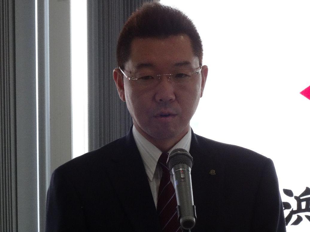 長野新会長挨拶