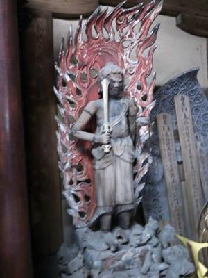 高縄寺不動明王(右側)