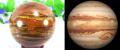 タイガーアイと木星