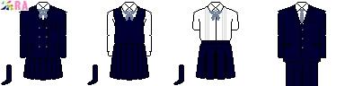 [東京]東京音楽大学付属高等学校制服ドット絵