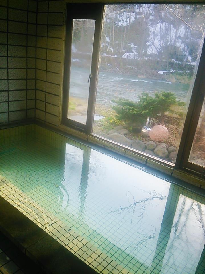 ばん岳荘風呂