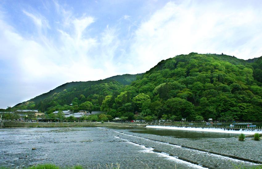 新緑嵐山11