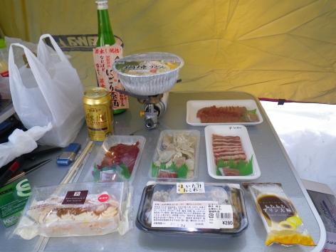 猪苗代湖モビレージ 夕食
