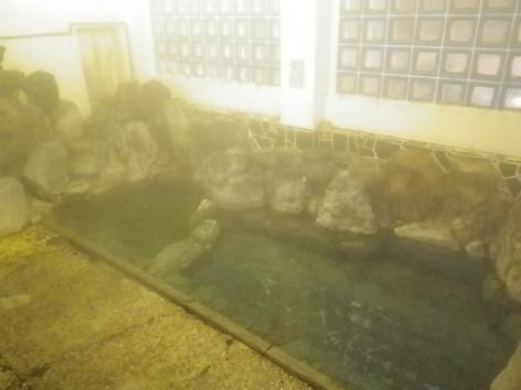 積善館 岩風呂