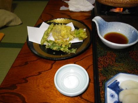 折立温泉 やまきや旅館 天ぷら