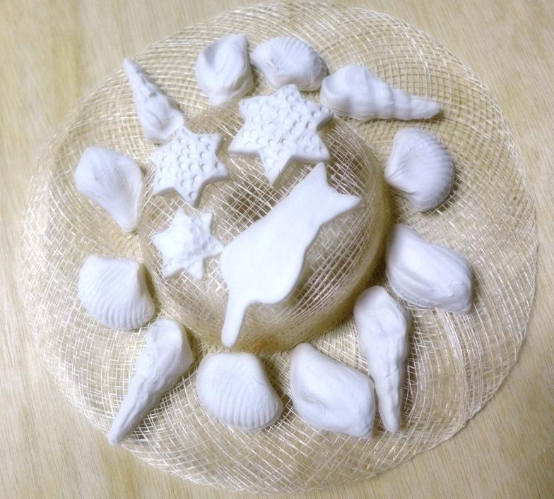 シナマイ貝殻帽子
