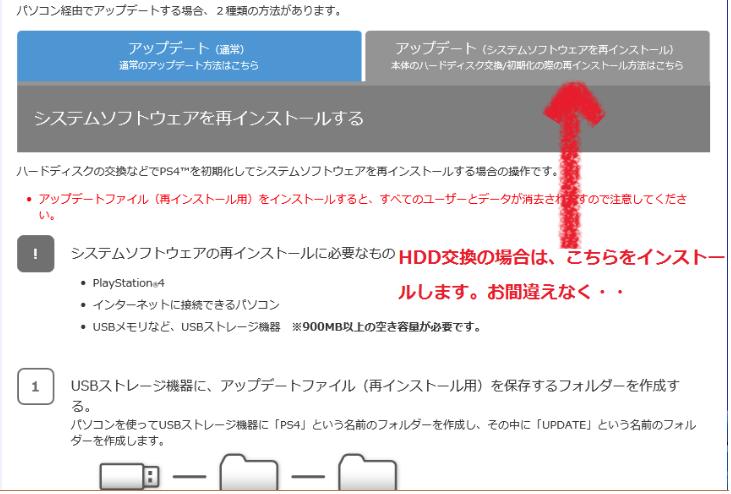 HDD交換3