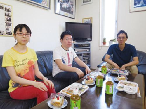 8月の昼食会
