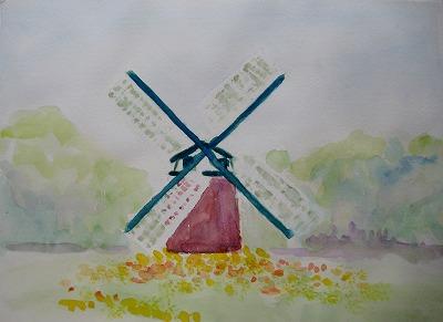 風車を描く