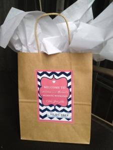 結婚式引き出物紙バッグ手作り3