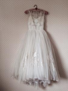 1950年代ヴィンテージウェディングドレス