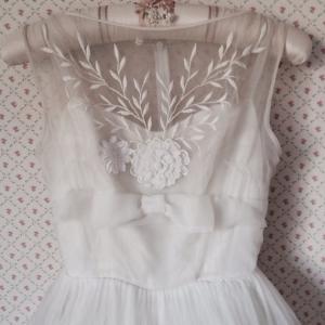 1950年代ヴィンテージウェディングドレス2