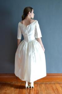 1960年代ヴィンテージウェディングドレス2