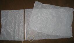 ポリエチ袋フープ 制作過程1