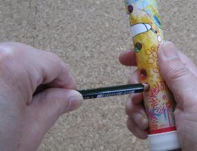 ふくの島の笛 制作過程11