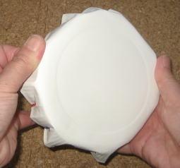 紙皿ペット太鼓  制作過程5