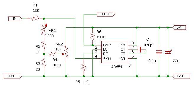 AD654実験回路2