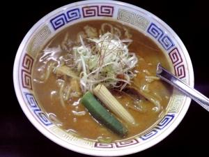 麺屋 丈六 カレーチキンラーメン