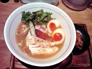 麺と心 7 鯛白湯 ~春の彩り~ Part2