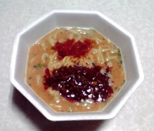 ラ王Selection 辣椒担々麺(できあがり)