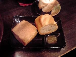 綿麺 フライデーナイト Part83 (15/2/27) ブヒィ!ヤベース(サイドメニューのパン)