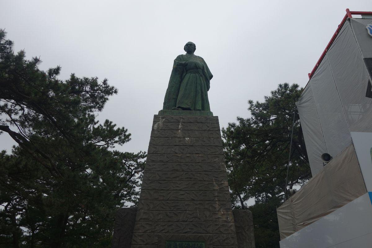 桂浜の坂本龍馬3