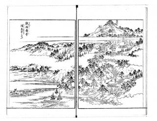 江戸名所図会五「観福寿寺」
