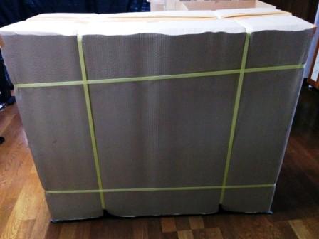 土のうステーション-折畳式土のうボックス-基本荷姿