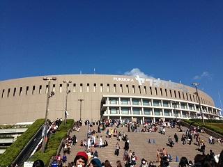 福岡15日、晴天です。