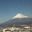 富士山、綺麗に見えた。