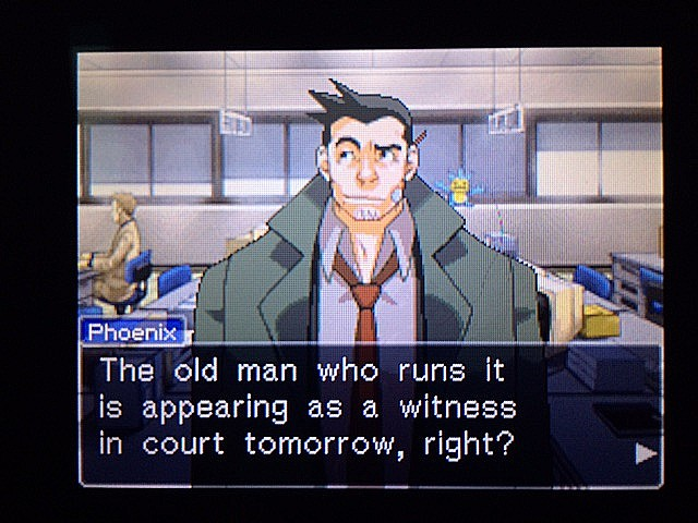逆転裁判 北米版 管理人の謎17
