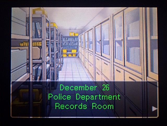逆転裁判 北米版 DL-6事件調査、概要1