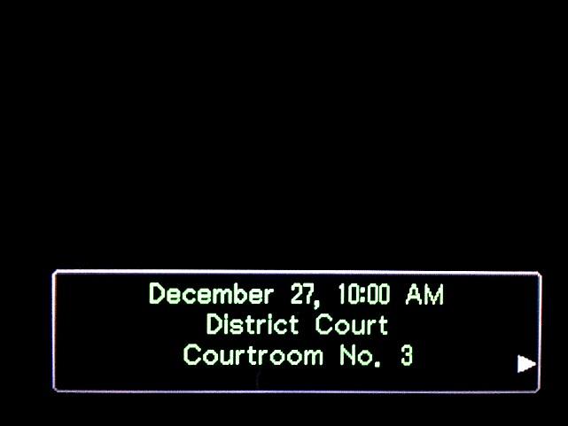 逆転裁判 北米版 審理二日目開廷1