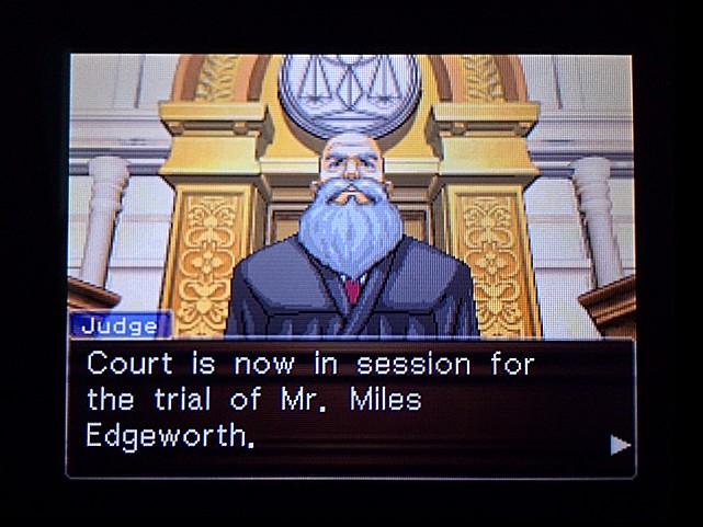 逆転裁判 北米版 審理二日目開廷2