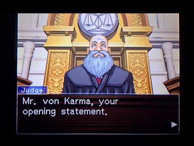 逆転裁判 北米版 審理二日目開廷7