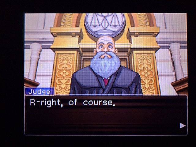 逆転裁判 北米版 審理二日目開廷11