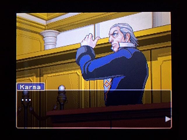 逆転裁判 北米版 ボート小屋の管理人入廷5