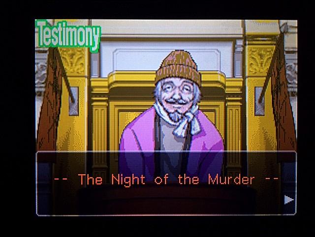 逆転裁判 北米版 オジサンの証言1