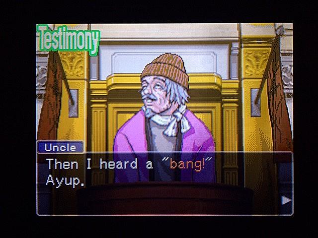 逆転裁判 北米版 オジサンの証言3