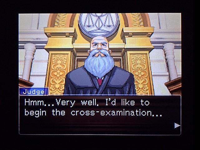 逆転裁判 北米版 オジサンの証言7