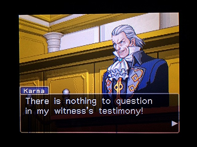 逆転裁判 北米版 オジサンの証言8