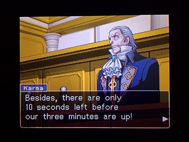 逆転裁判 北米版 オジサンの証言9