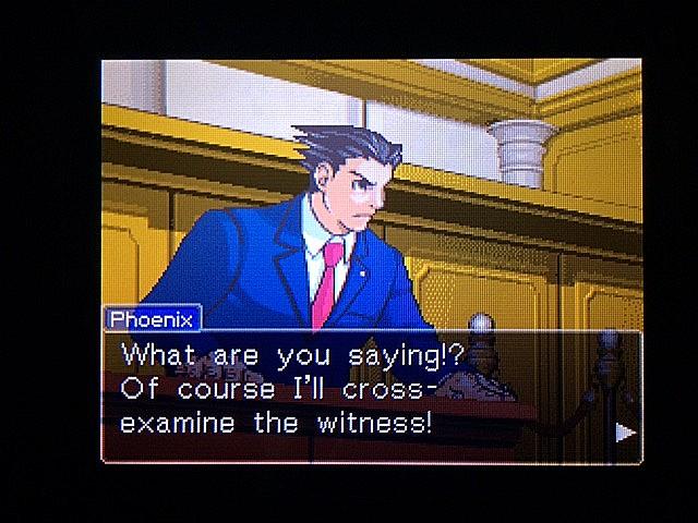 逆転裁判 北米版 オジサンの証言12