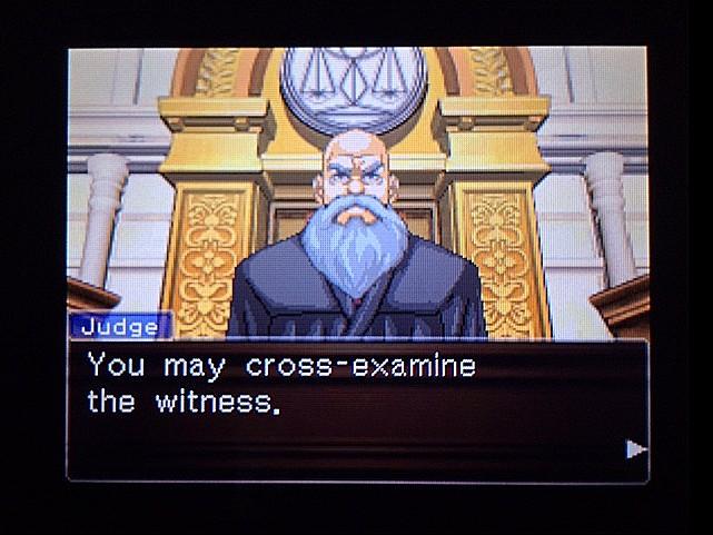 逆転裁判 北米版 オジサンの証言19